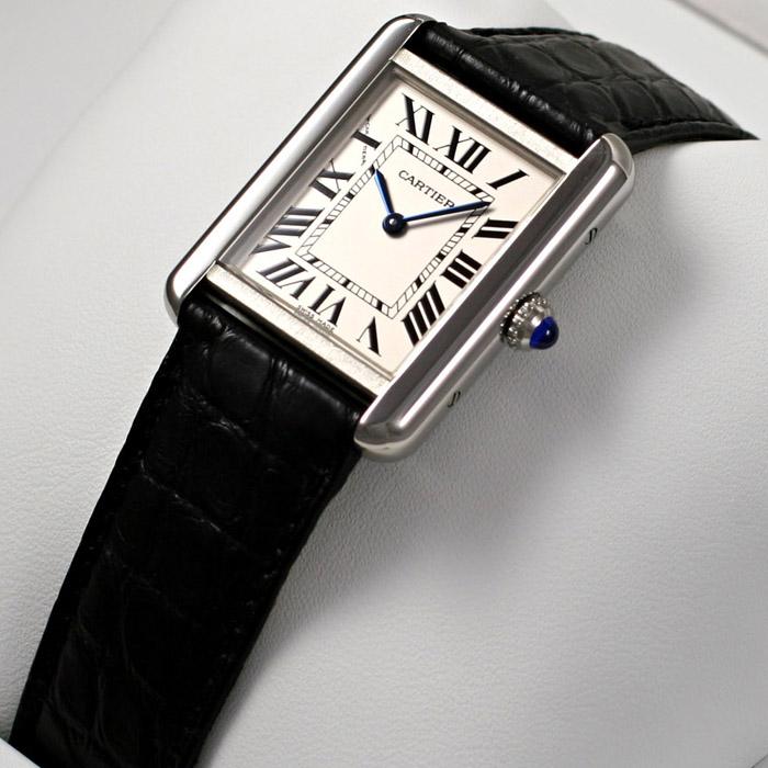 [추가비용없음] 까르띠에 Cartier W5200005 TANK SOLO W5200005 여성