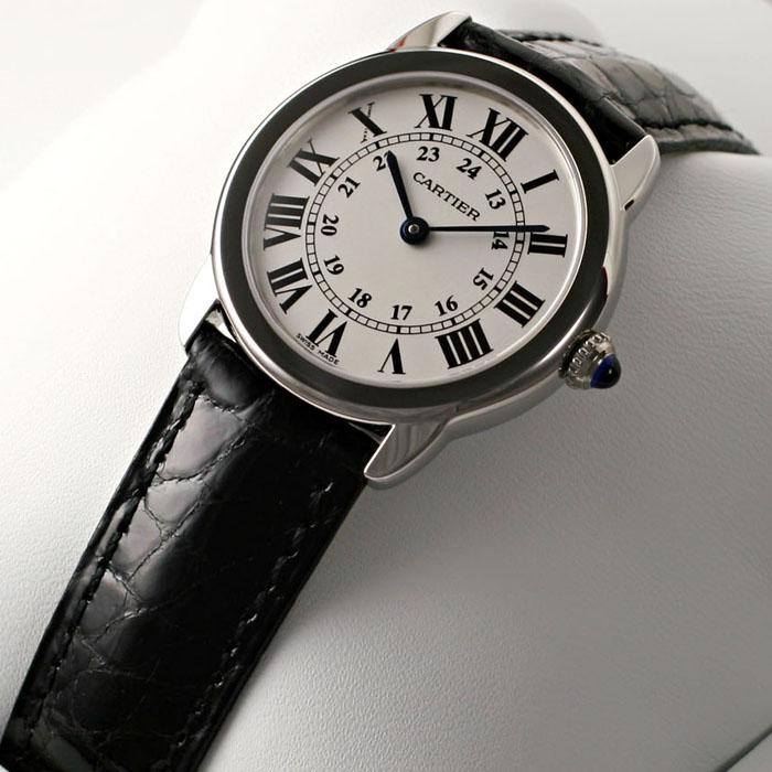 [추가비용없음] 까르띠에 Cartier W6700155 RONDE SOLO W6700155 Cartier