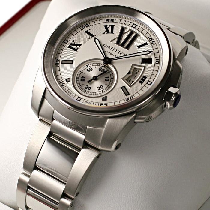 [추가비용없음] 까르띠에 Cartier Calibre W7100015 Calibre de Cartier 42mm
