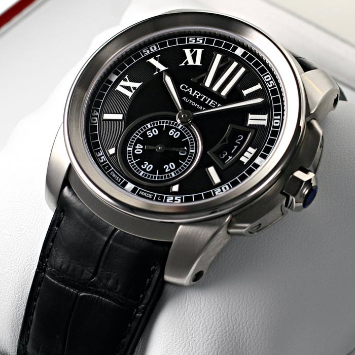 [추가비용없음] 까르띠에 Cartier W7100041 Cartier Calibre 남성