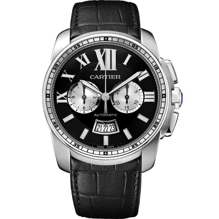 [추가비용없음] 까르띠에 Cartier W7100060 Calibre de Cartier Chronograph 42mm