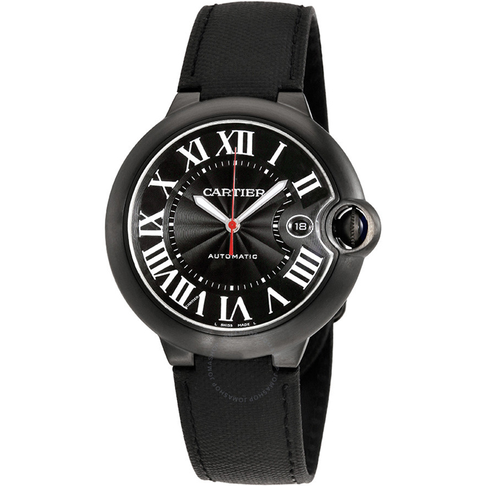 [추가비용없음] 까르띠에 Cartier WSBB0015 Ballon Bleu 42mm Black Carbon Mens Watch