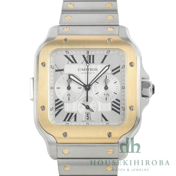 [추가비용없음] 까르띠에 CARTIER W2SA0008 Santos de Cartier XL