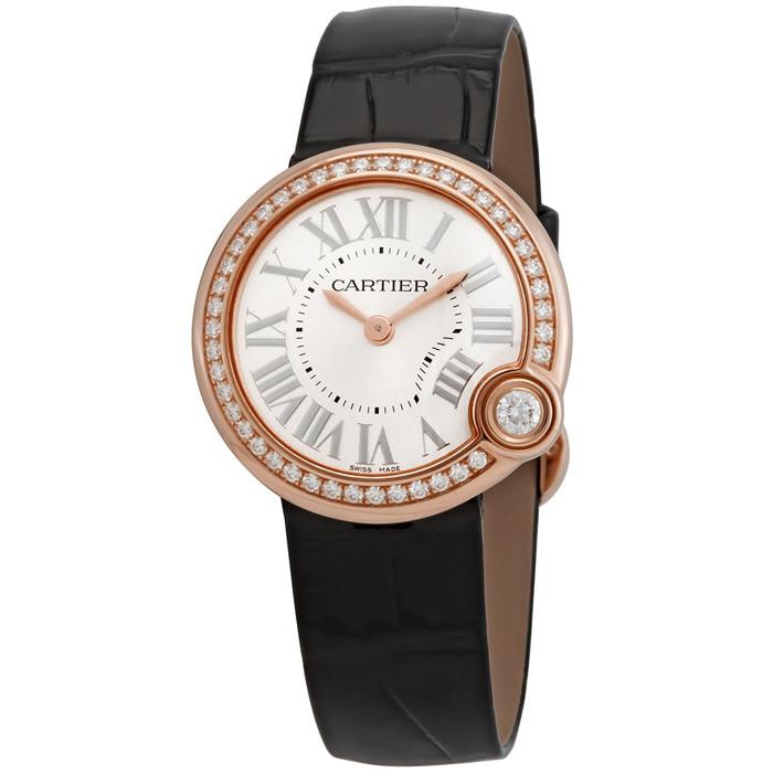 [추가비용없음] 까르띠에 CARTIER WJBL0005 Ballon Blanc de 18kt Pink Gold Diamonds