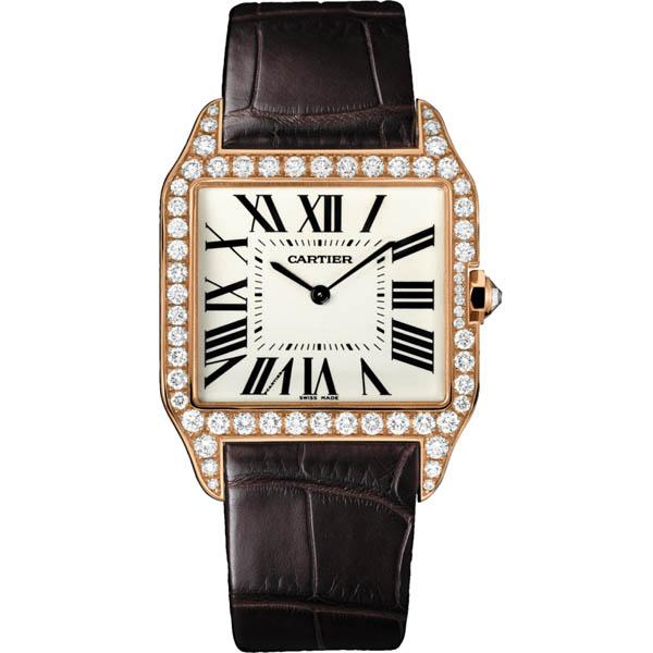 [추가비용없음] 까르띠에 Cartier WGSA67022 SANTOS DUMONT WH10075 18K