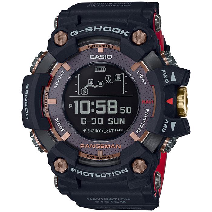 [추가비용없음] 카시오 CASIO 지샥 G-SHOCK 35th MAGMA OCEAN RANGEMAN GPS GPR-B1000TF-1JR 국제보증서