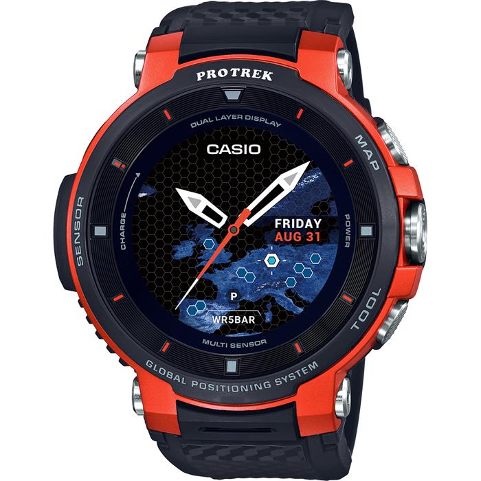 [추가비용없음] 카시오 CASIO 프로트렉 PROTREK Smart Outdoor Watch WSD-F30-RG