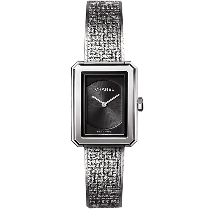 [추가비용없음] 샤넬 CHANEL 손목시계 H4876 BOY FRIEND TWEED 샤넬시계 여성