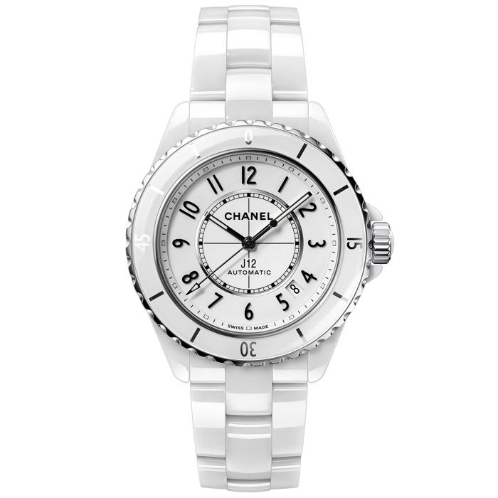 [추가비용없음] 샤넬 시계 CHANEL J12 H5700 화이트 세라믹 다이아몬드 인덱스 38mm