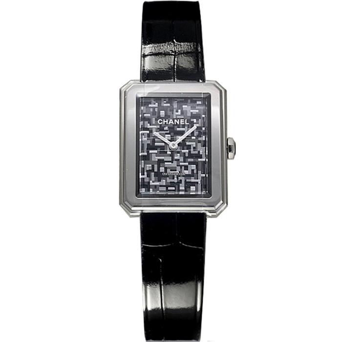 [추가비용없음] 샤넬 시계 CHANEL BOY·FRIEND TWEED H6127
