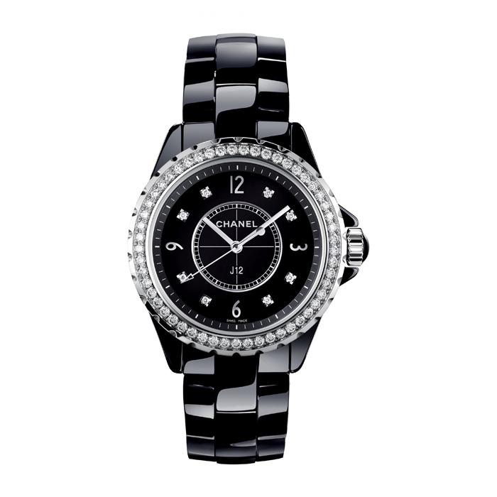 [추가비용없음] 샤넬 CHANEL J12 Quartz 33mm H3108 베젤 다이아몬드 여성