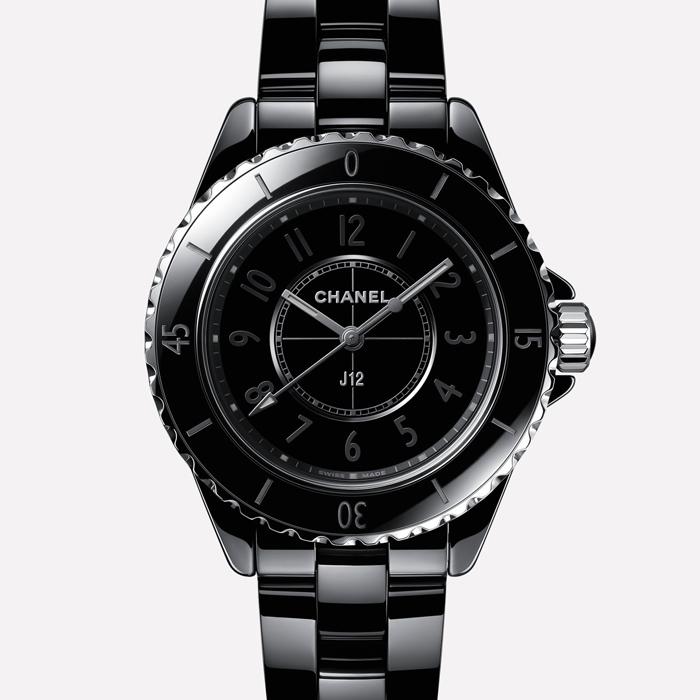 [추가비용없음] 샤넬시계 CHANEL H6185 J12 Phantom 팬텀 블랙 세계한정 1200 여성