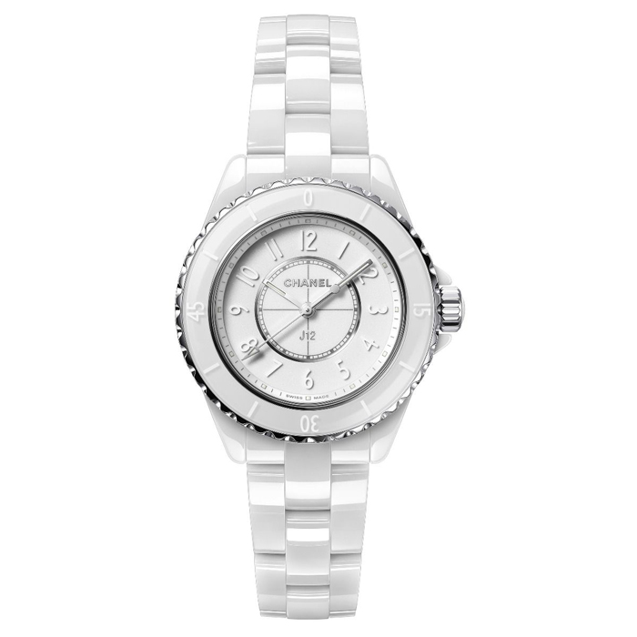 [추가비용없음] 샤넬 시계 H6345 CHANEL J12 33 PHANTOM WHITE 세계 1200개 한정 여성