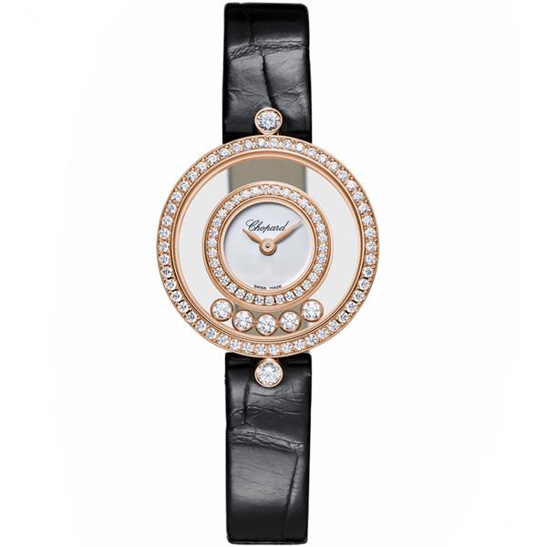 [추가비용없음] 쇼파드 Chopard 해피 다이아몬드 아이콘 시계 203957-5201