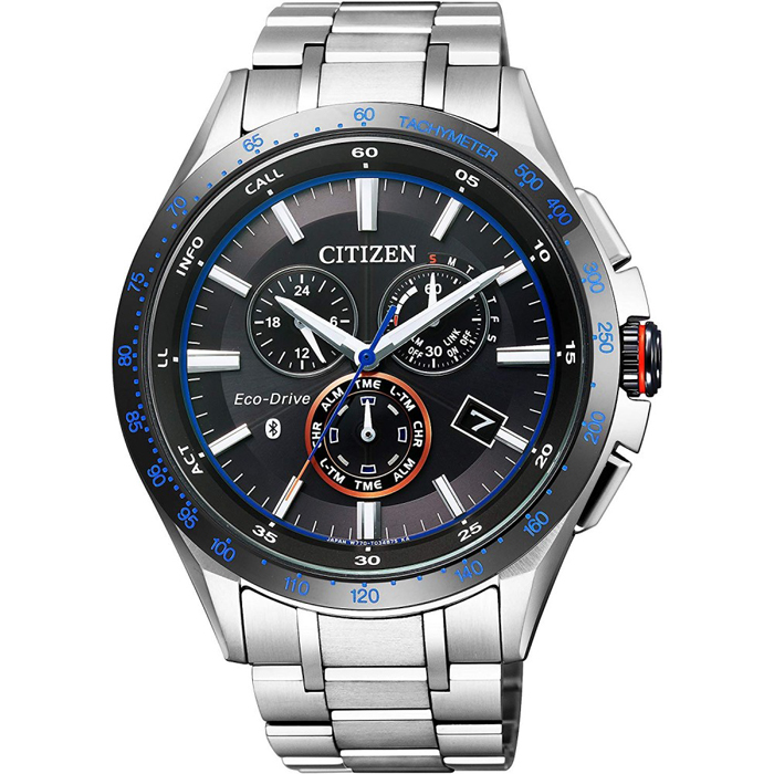 [추가비용없음] 시티즌 CITIZEN 에코 드라이브 Bluetooth 블루투스 스마트 시계 남성 BZ1034-52E