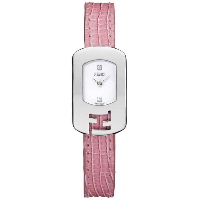 [추가비용없음] 펜디 FENDI 카멜레온 쿼츠 여성 F300024071D1 화이트 × 핑크