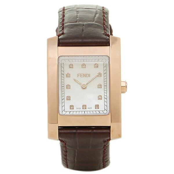 [추가비용없음] 펜디 FENDI 클라시코 스위스 여성 시계 F704242D 화이트 쉘