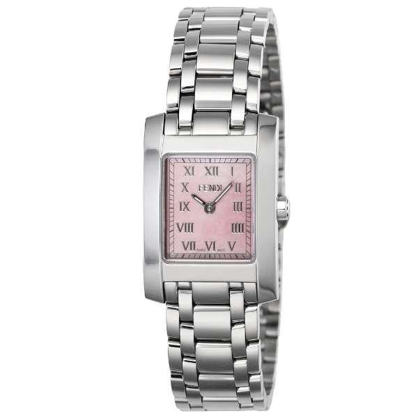 [추가비용없음] 펜디 FENDI 클라시코 쿼츠 여성 시계 F705270J 핑크 쉘