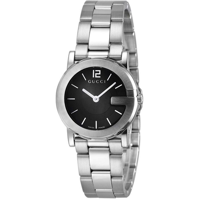 [추가비용없음] GUCCI 구찌 손목시계 YA101 블랙 레디스 YA101505 여성