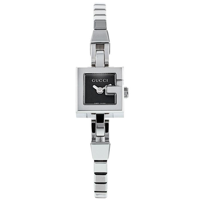[추가비용없음] 구찌 GUCCI Women 's YA102506 G-Dial Bracelet Watch 여성