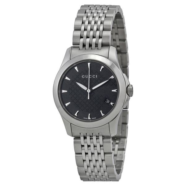 [추가비용없음] 구찌 YA126502 G Timeless Stainless Steel Womens Watch