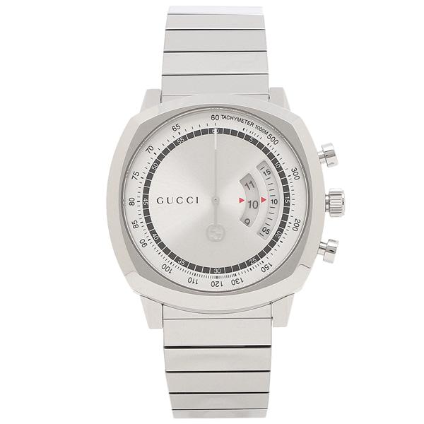 [추가비용없음] 구찌 YA157302 Grip 40MM Silver Watch