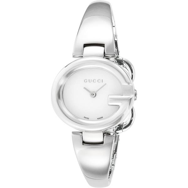 [추가비용없음] 구찌시계 GUCCI  YA134507 Maxima Quartz Wrist Watch Silver Dial