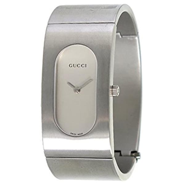 [추가비용없음] 구찌 GUCCI GQ2405P Bangle Style Quartz Watch Silver