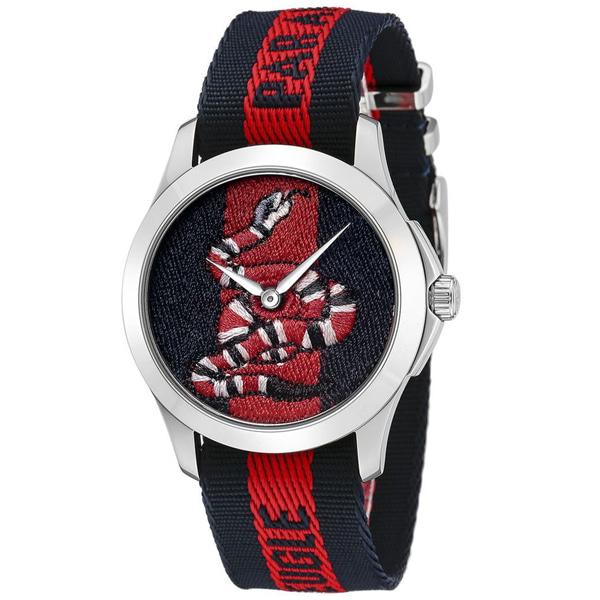 [추가비용없음] 구찌 GUCCI YA126493 Le Marche Des Merveilles Series 38mm Unisex Watch