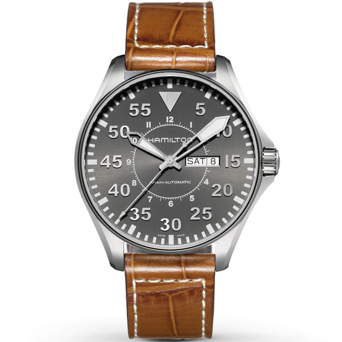 [추가비용없음] 해밀턴 Hamilton AVIATION PILOT 46mm H64715885