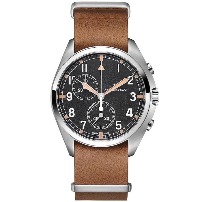 [추가비용없음] 해밀턴 Hamilton H76522531 Hamilton Khaki Pilot Pioneer Chronograph