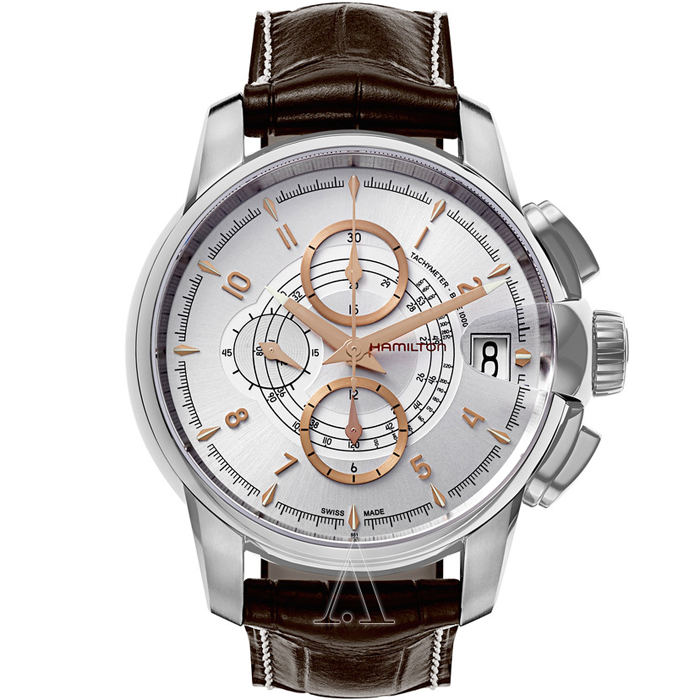 [추가비용없음] 해밀턴 Hamilton Rail Road Auto Chrono H40616555