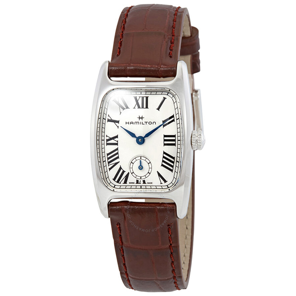 [추가금액없음] 해밀턴 HAMILTON H13321511 Boulton M White Dial Ladies Watch