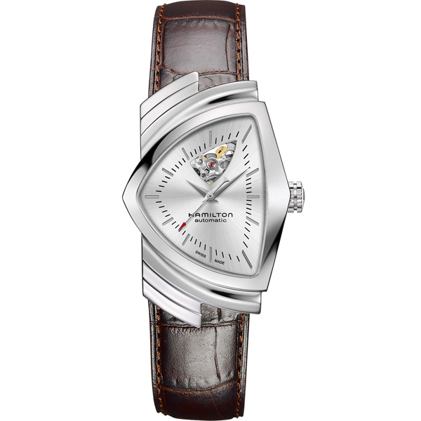해밀턴 HAMILTON H24515552 Ventura Open Heart Automatic Watch