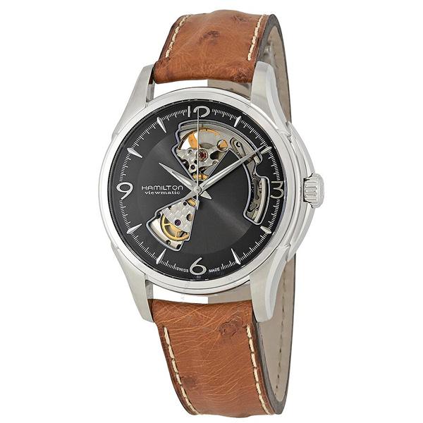 [추가금액없음] 해밀턴 HAMILTON H32565585 Jazzmaster Open Heart Automatic Watch