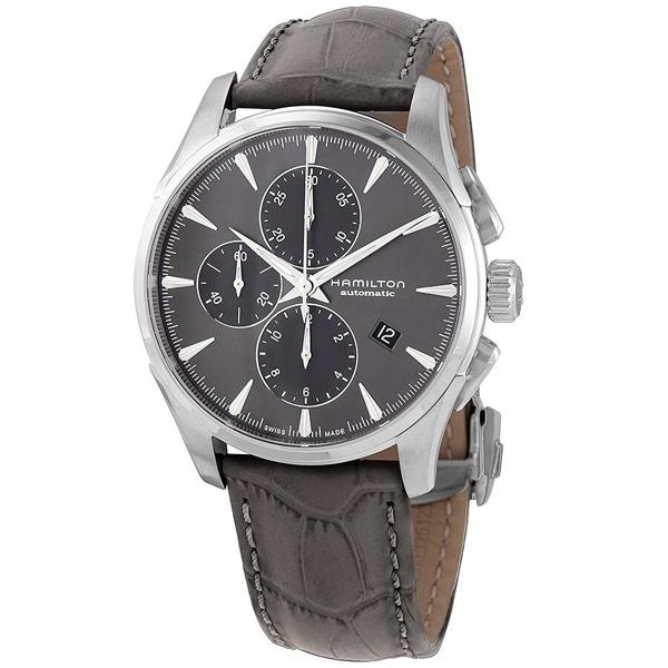[추가금액없음] 해밀턴 HAMILTON H32586881 Jazzmaster Chronograph Automatic Grey Dial Watch