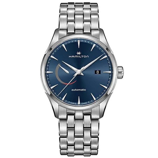 [추가금액없음] 해밀턴 HAMILTON H32635141 Jazzmaster Power Automatic Blue Dial Watch