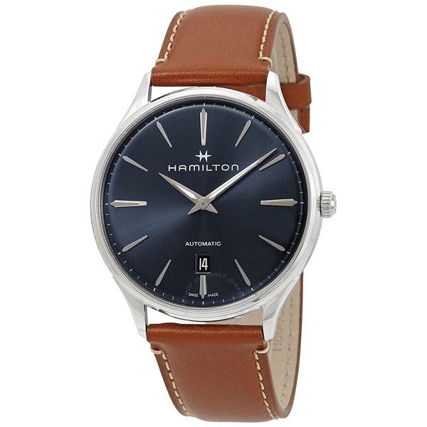 [추가금액없음] 해밀턴 HAMILTON H38525541 Jazzmaster Automatic Blue Dial Watch