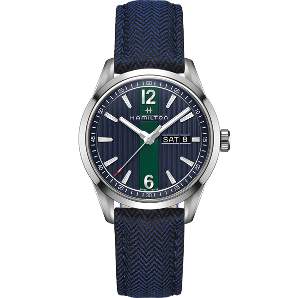 [추가금액없음] 해밀턴 HAMILTON H43311941 Broadway Day Date Quartz