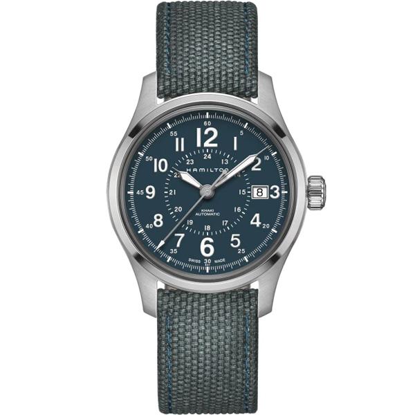[추가금액없음] 해밀턴 HAMILTON H70305943 Khaki Field Automatic Blue Dial Watch