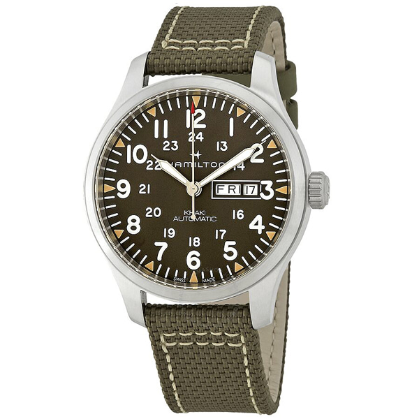 [추가금액없음] 해밀턴 HAMILTON H70535081 Khaki Field Automatic Grey Dial Mens Watch