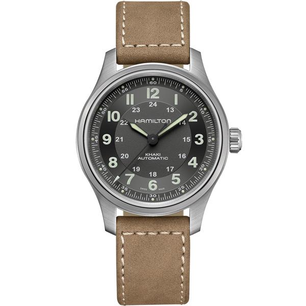 해밀턴 HAMILTON H70545550 Khaki Field Automatic Black Dial Watch