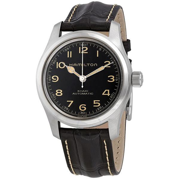 [추가금액없음] 해밀턴 HAMILTON H70605731 Khaki Field Murph Automatic Black Dial Watch