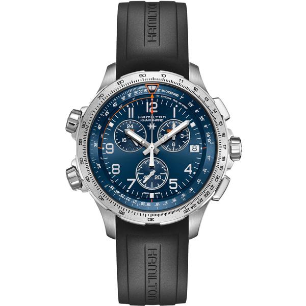 [추가금액없음] 해밀턴 HAMILTON H77922341 Khaki X-Wind Chronograph Quartz Watch