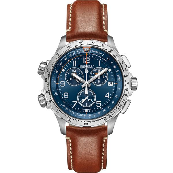 [추가금액없음] 해밀턴 HAMILTON H77922541 Khaki X-Wind Chronograph Quartz Watch