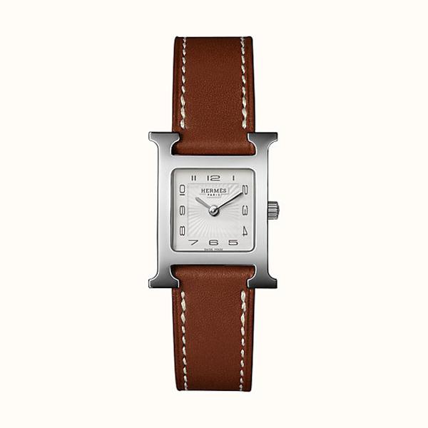 [추가비용없음] 에르메스 HERMES W036706WW00 Heure H watch, 21 x 21mm