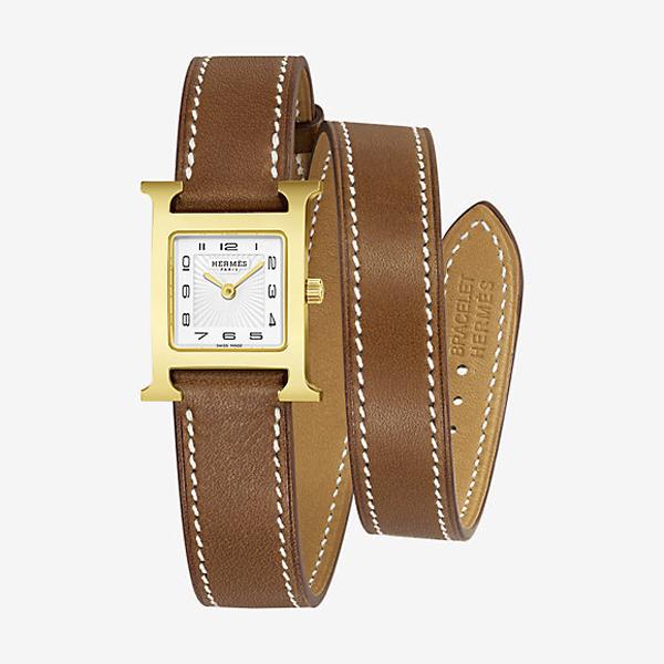 [추가비용없음] 에르메스 HERMES H아워 스몰 Heure H watch, small model 21 x 21?mm W036737WW00