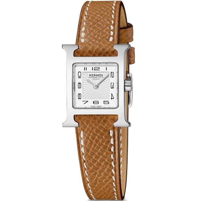 [추가비용없음] 에르메스 HERMES W037875WW00 H watch 17.2 x 17.2