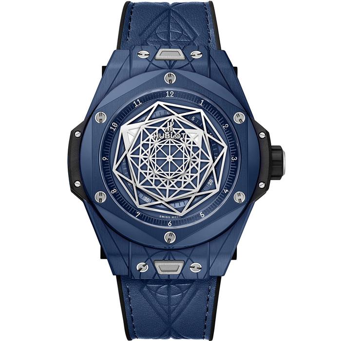 [추가비용없음] 위블로 HUBLOT 415.EX.7179.VR.MXM19 Big Bang Unico Sang Bleu Ceramic Blue