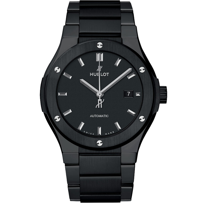 [추가비용없음] 위블로 HUBLOT 548.CM.1170.CM Classic Fusion Black Magic Bracelet Black Ceramic 42mm